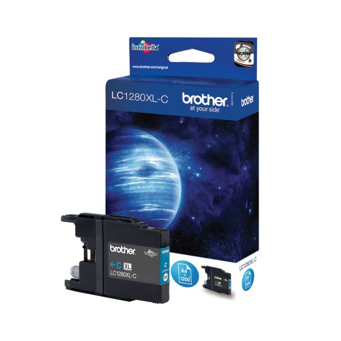 CARTOUCHE BROTHER LC 1280 XL CYAN