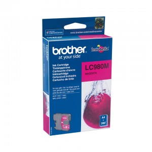 CARTOUCHE BROTHER LC980 MAGENTA