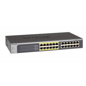 SWITCH POE PROSAFE PLUS 24 PORTS NETGEAR JGS524PE
