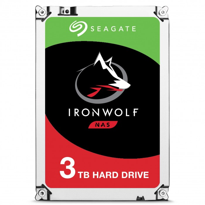 DISQUE DUR SEAGATE IRONWOLF 3 TO