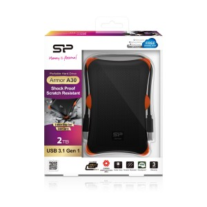 DISQUE DUR EXTERNE SILICON POWER ARMOR A30 2 TO